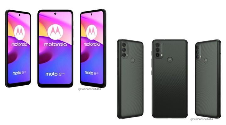 Motorola Moto G Pure ve Moto E40 ortaya çıktı: İşte detaylar