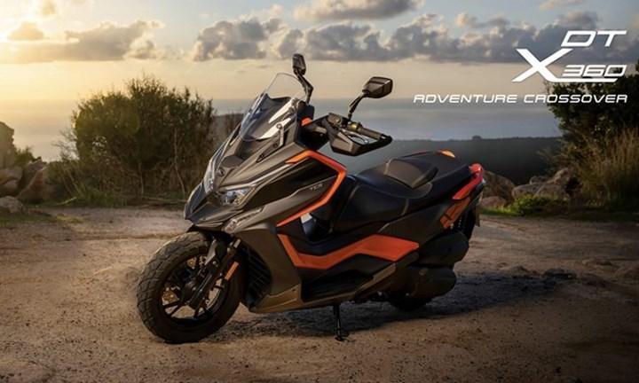 Kymco DT X360 scooter Türkiye fiyatı ve özellikleri