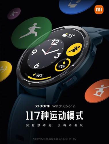 Xiaomi Watch Color 2 geliyor