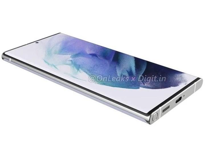 Galaxy S22 Ultra'nın tasarımı ve özellikleri ortaya çıktı