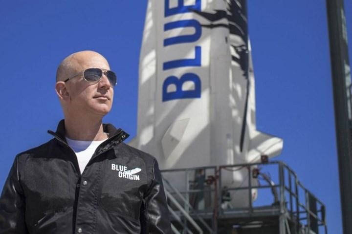 Jeff Bezos ve Blue Origin
