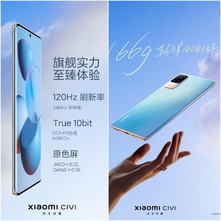 Xiaomi Civi özellikleri neler?