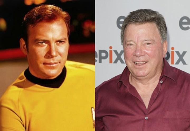 William Shatner ve canlandırdığı Kaptan Kirk karakteri