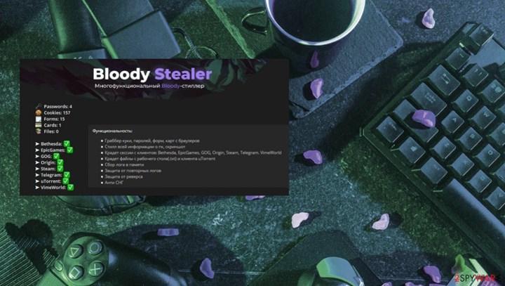 Oyuncu hesaplarını çalan trojan ortaya çıktı: BloodyStealer