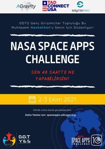 NASA'nın herkese açık yarışması Space Apps Challenge için son gün