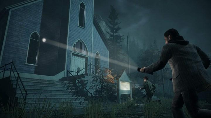 Alan Wake Remastered 4K oynanış videosu