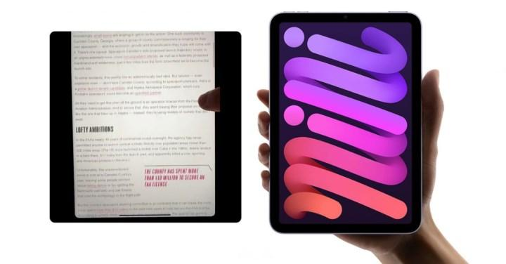 Apple, iPad mini 6'daki jöle etkisinin normal olduğunu açıkladı