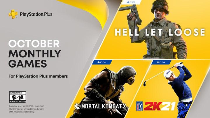 PS Plus Ekim 2021 oyunları resmi olarak açıklandı