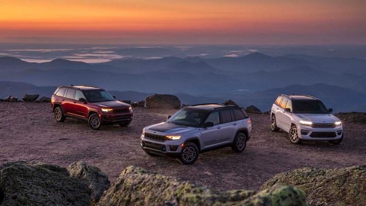 2022 Jeep Grand Cherokee, şarj edilebilir hibrit versiyonla geldi