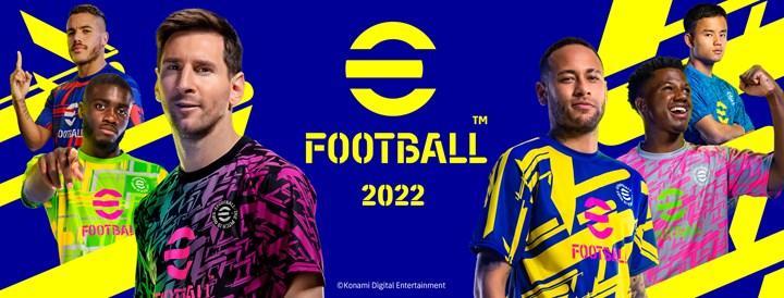 eFootball 2022, ücretsiz olarak çıkışını yaptı