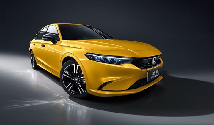 Yeni Civic'in sportif kardeşi 2022 Honda Integra Çin'de satılacak