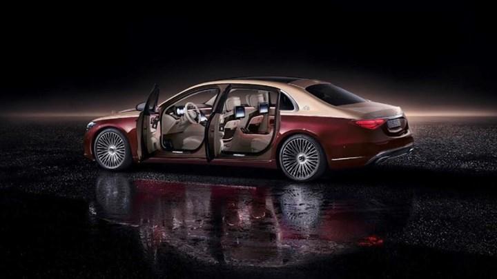 yeni Mercedes-Maybach S-Serisi dış tasarım