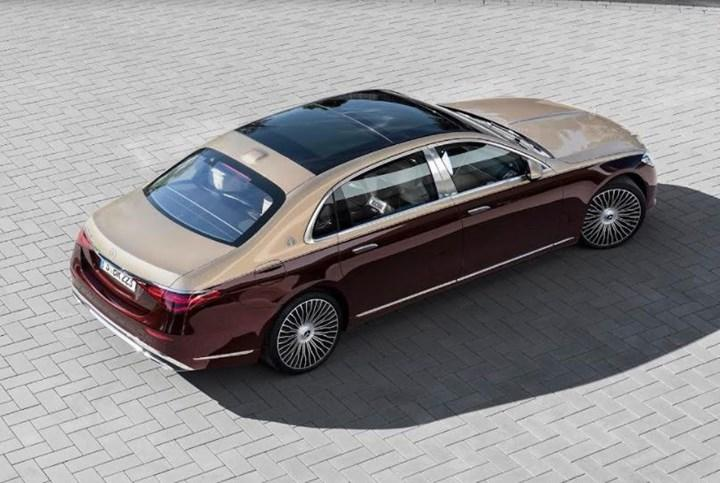 yeni Mercedes-Maybach S-Serisi arka tasarım