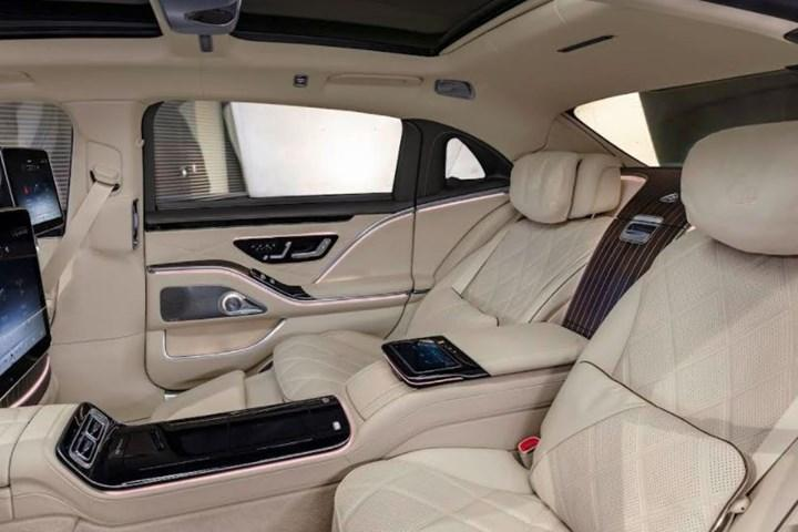 yeni Mercedes-Maybach S-Serisi iç mekan
