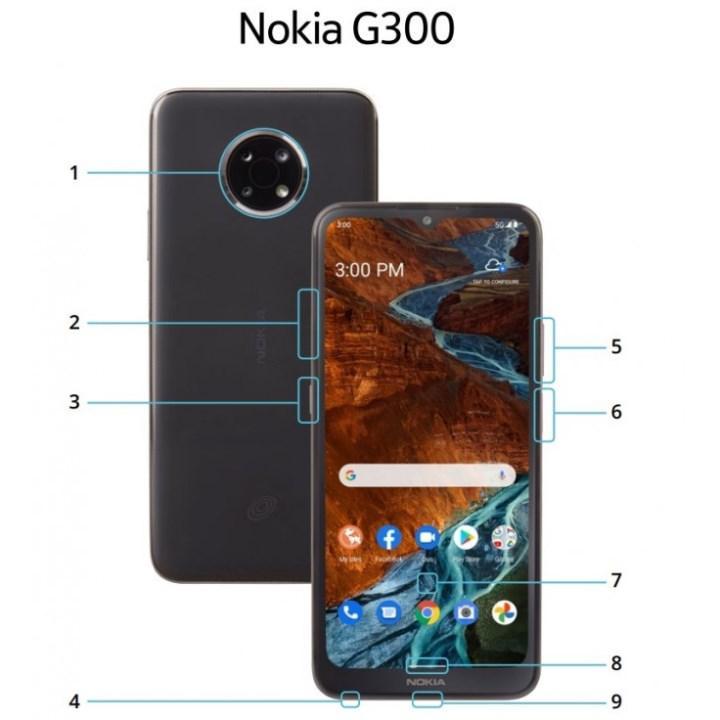 Nokia G300 5G'nin görüntüsü ve özellikleri ortaya çıktı