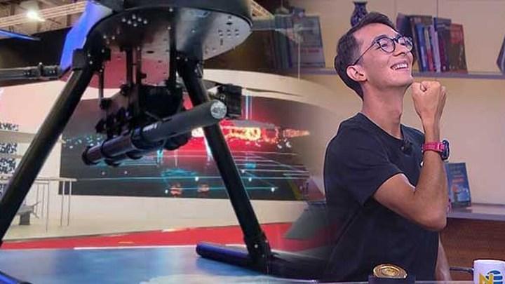 Mete Gazoz, lazer güdümlü mini füze METE