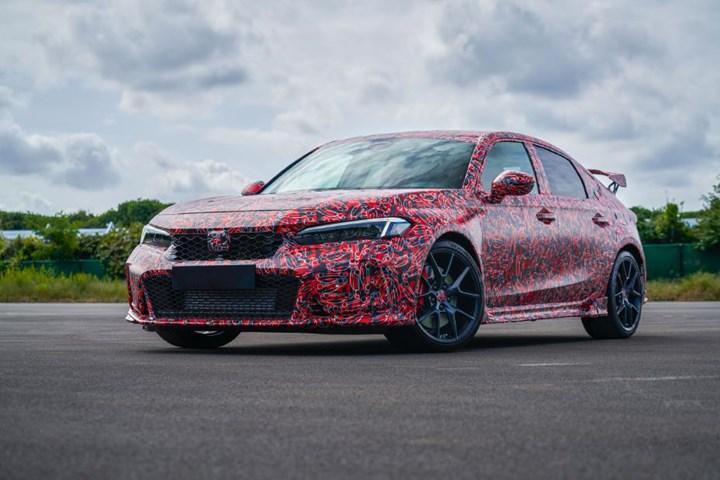 Yeni Honda Civic Type R'ın kamuflajlı fotoğrafları paylaşıldı