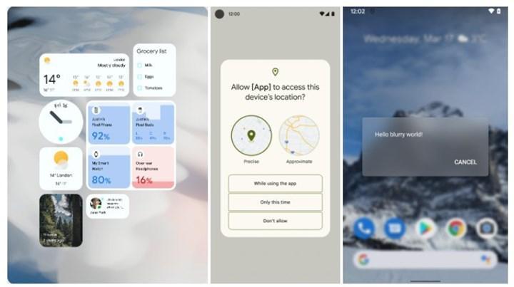 Android 12'nin kararlı sürümü yayınlandı