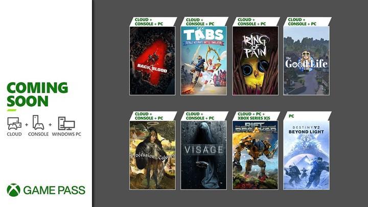 Xbox Game Pass Ekim 2021 takvimi belli oldu