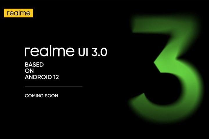 Android 12 tabanlı Realme UI 3.0, 13 Ekim'de geliyor
