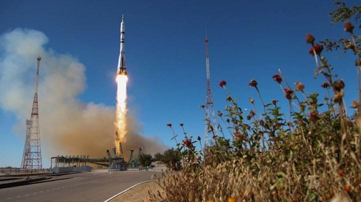 Soyuz MS-19'un fırlatılışı