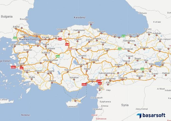 Yerli harita uygulaması Başarsoft'tan otomobil devlerine dava