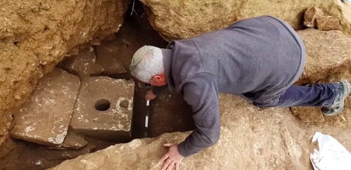 İsrail'de 2700 yıllık tuvalet bulundu