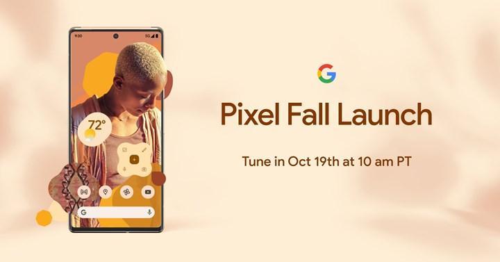 Google Pixel 6 ve Pixel 6 Pro'nun tanıtım tarihi belli oldu
