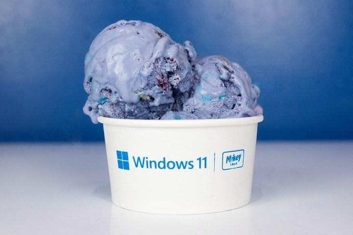 Microsoft, Windows 11'in şerefine ücretsiz dondurma dağıtıyor