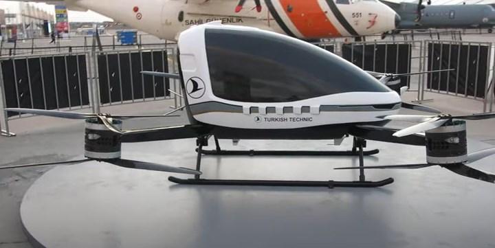 THY Teknik de uçan araba geliştirdi: İşte 'Esinti'