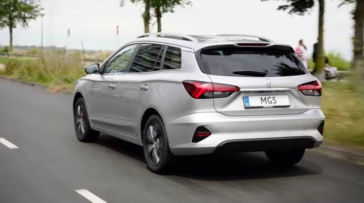MG'nin elektrikli station wagon modeli MG5 Electric yenilendi