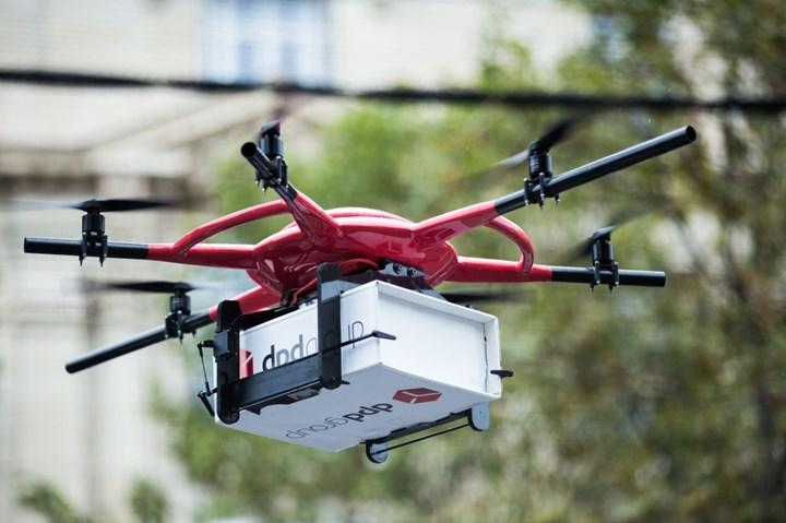 Drone ile kargo taşımacılığı için uçuş koridoru belirlendi