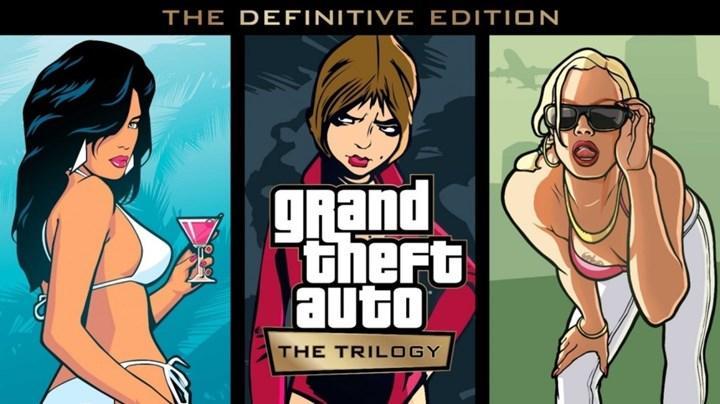Grand Theft Auto: The Trilogy – The Definitive Edition duyuruldu