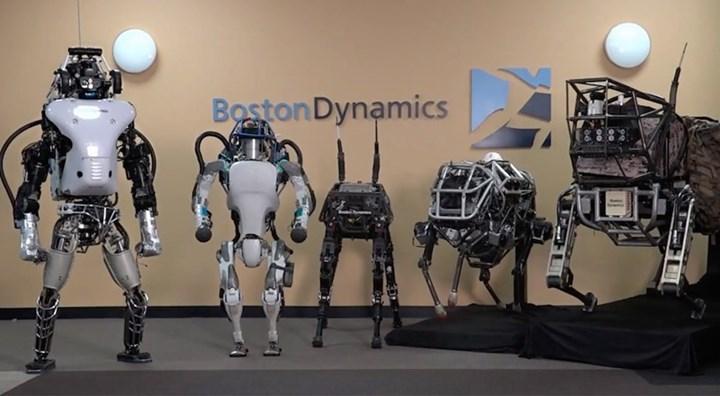 Boston Dynamics robotları