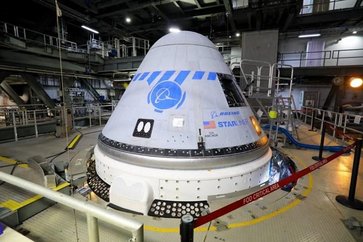 Starliner'ın ikinci mürettebatsız test uçuşu 2022'de yapılacak