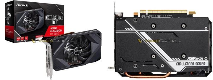 RX 6600'e ait özel tasarım kartlar görüntülendi