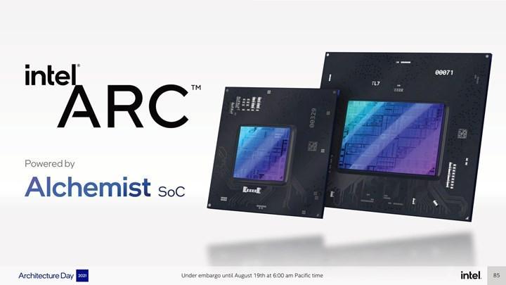 Intel'in ARC ekran kartlarında madencilik engeli bulunmayacak