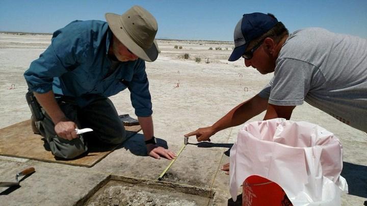 Utah'ta sürdürülen kazı