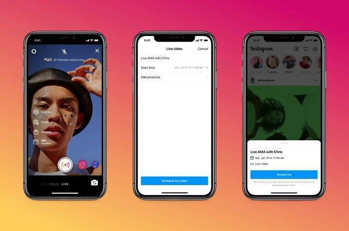 Instagram canlı yayınlarına iki yeni özellik