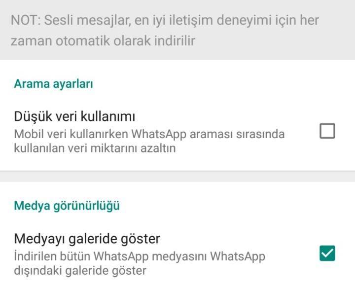 WhatsApp kullanıcılarına müjde: Resim ve videolarınız artık galeride görünmeyecek