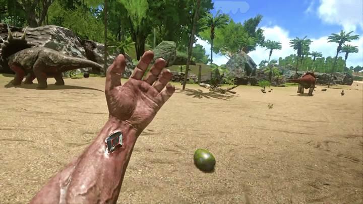 Ark: Survival Evolved mobile geldi
