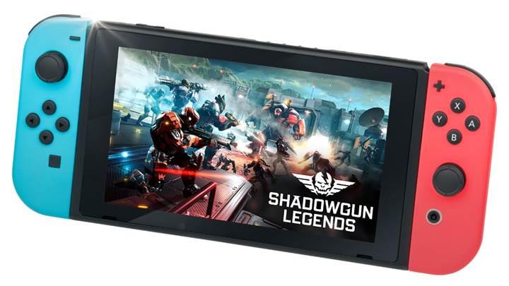 Shadowgun Legends şimdi de Nintendo Switch konsoluna geliyor