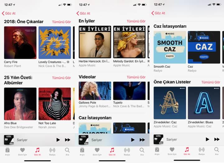 Caz festivali için özel Apple Music içeriği