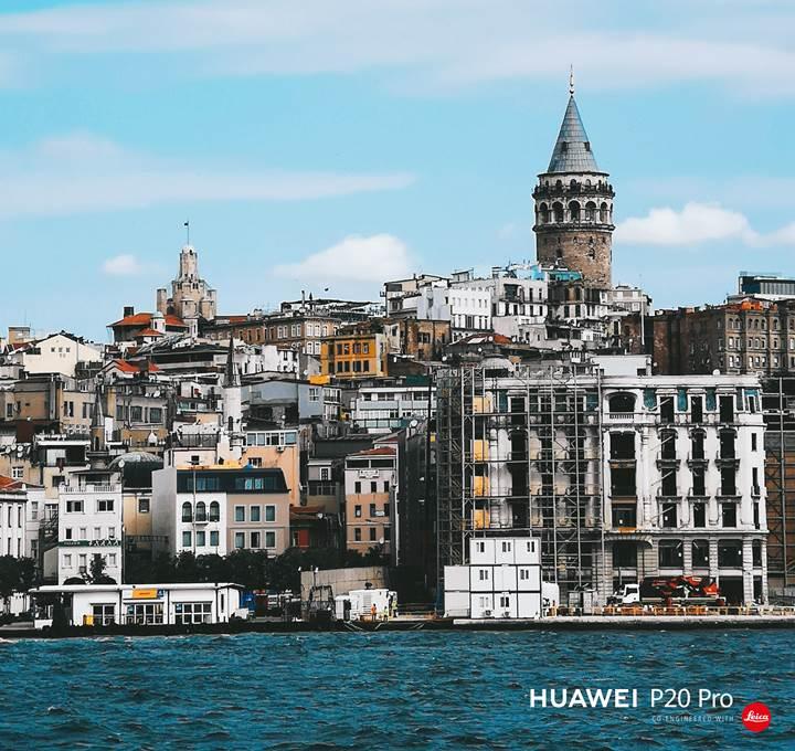 Yedi tepeli şehrin Huawei P20 Pro ile çekilmiş fotoğrafları
