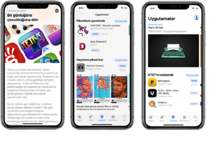 Retro tutkunlarına özel App Store sekmesi