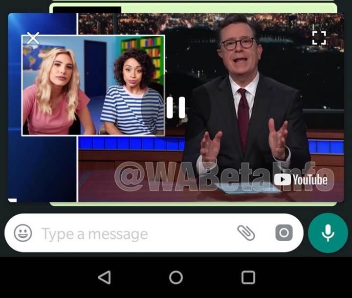 WhatsApp'ın Android sürümüne YouTube entegrasyonu geldi