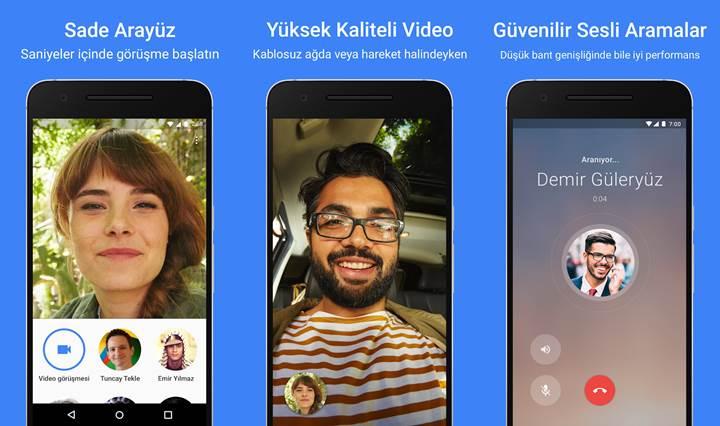 Google Duo görüntülü sohbet uygulaması iki yaşında