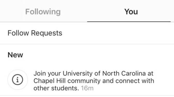 Instagram, üniversite öğrencileri için sanal toplulukları test ediyor