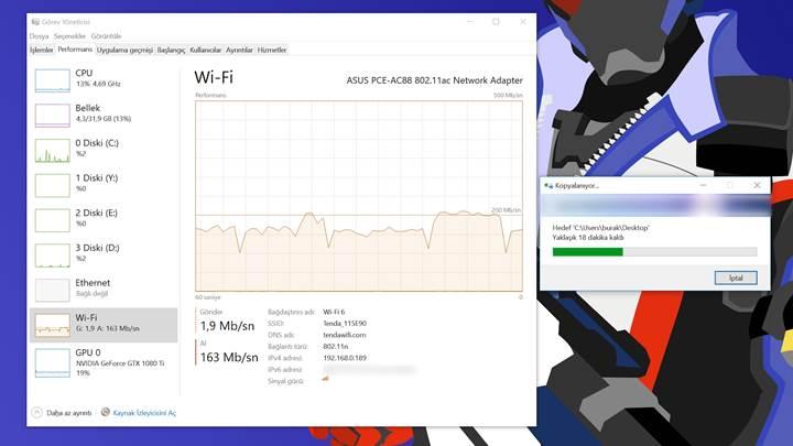 Broadcom yongalı Tenda AC18 router ve F/P ürünü U12 Wi-Fi adaptörü inceledik