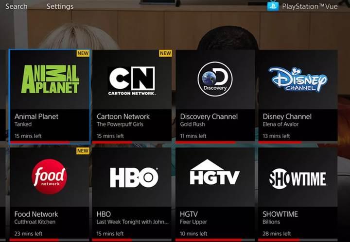 PlayStation Vue uygulaması Apple TV uygulaması ile entegre oldu